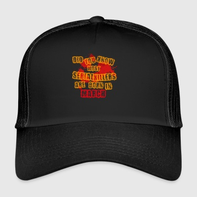 halloween scary suesses sour trick - Trucker Cap