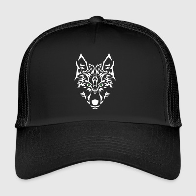 Wolf Power. Nem at personliggøre. - Trucker Cap