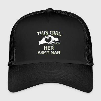 Army US Army Husband Gift - Trucker Cap