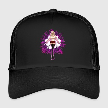 Explosieve Hot Girl Blonde - Trucker Cap