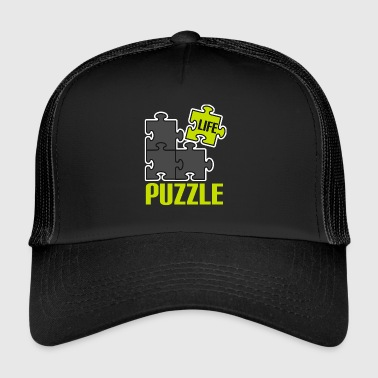 Play puzzle game puzzle mind mind new n - Trucker Cap