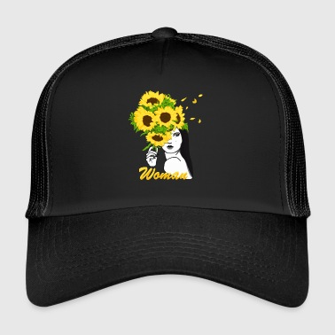 Blooming Woman - Trucker Cap