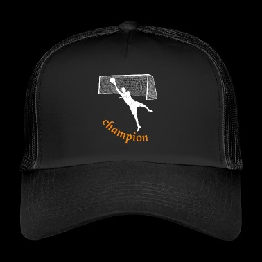 champion goalkeeper - Trucker Cap