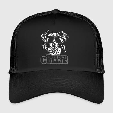 Bordercollie viileä - Trucker Cap