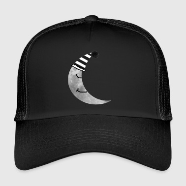 moon nukkuminen - Trucker Cap