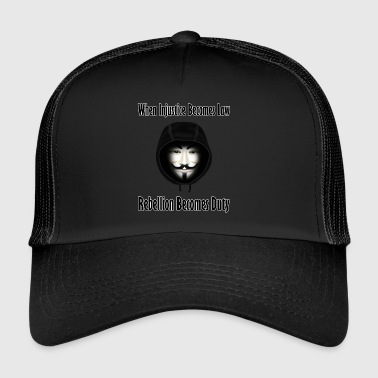 Rebellion is Duty - Trucker Cap
