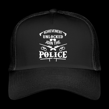 Video Game Politieman - politie - Trucker Cap