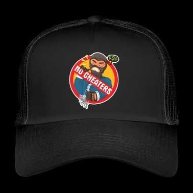 Cheating will not be tolerated - Trucker Cap