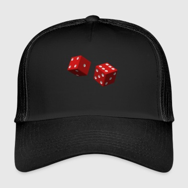 dés rouges - Trucker Cap