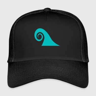 Blue Wave - Trucker Cap