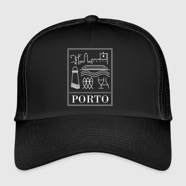 suchbegriff 39 porto 39 caps m tzen online bestellen spreadshirt. Black Bedroom Furniture Sets. Home Design Ideas