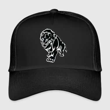 Marcher grand noir de lion - Trucker Cap