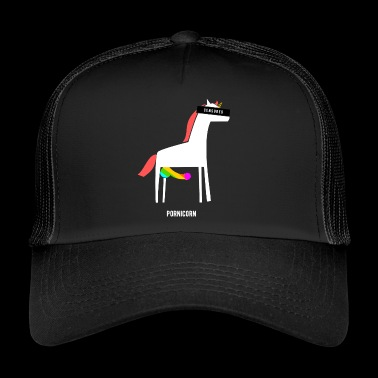 Pornicorn / Funny / Provocative - Trucker Cap