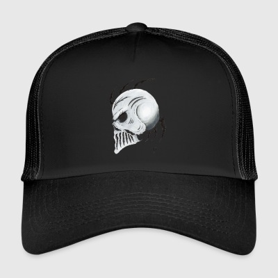 tribal Skull - Trucker Cap