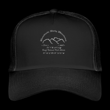 Kanada Rocky Mountains - Trucker Cap