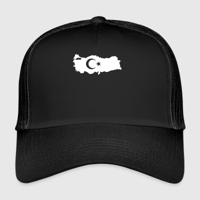 Turkey white 2 - Trucker Cap