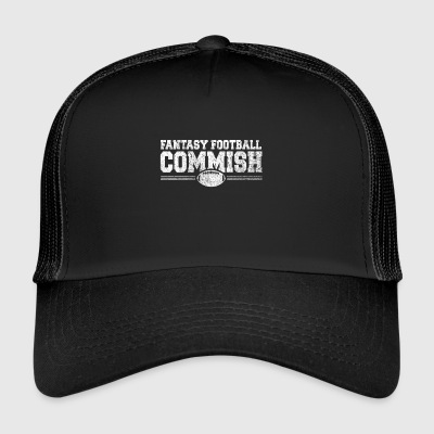 Fantasy Football Nerd NFL Online Team Champ - Trucker Cap