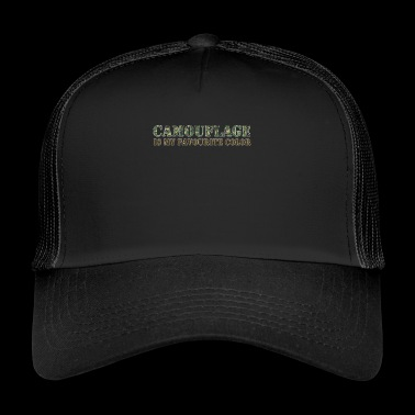 Kamouflage Favorite Color Army Army - Trucker Cap