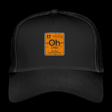 Oh énonciations drôles Ohio - Trucker Cap
