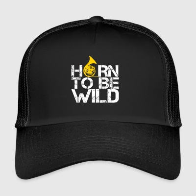 HORN TO BE WILD - Trucker Cap