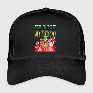 Web Developer Christmas Gift Idea - Trucker Cap
