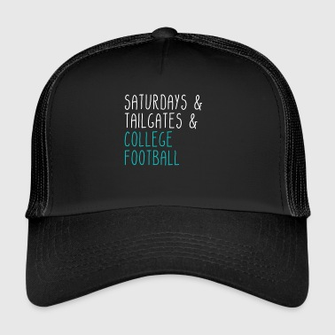 Lørdager hekken College Football - Trucker Cap