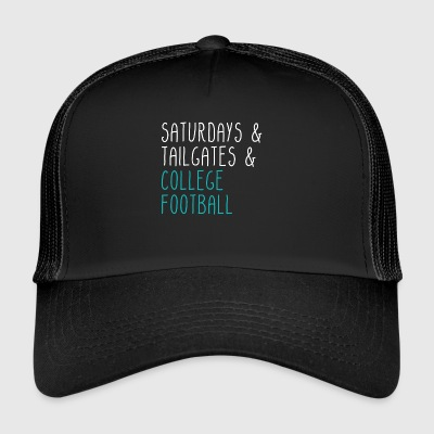 Lørdage bagklapper College Football - Trucker Cap