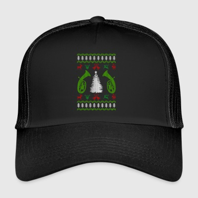 music baritone ugly christmas - Trucker Cap