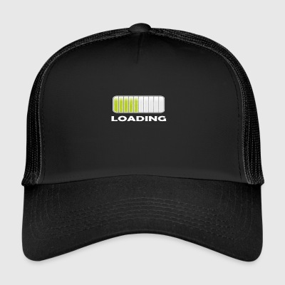 loading bar t shirt GIFT - Trucker Cap