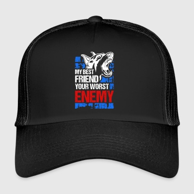 My best friend - your worst enemy - Trucker Cap