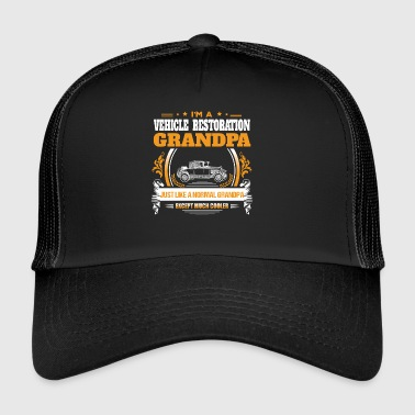 Vehicle Restoration Grandpa Shirt Gift Idea - Trucker Cap