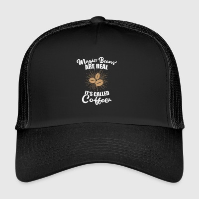 Magic coffee beans coffee beans breakfast office - Trucker Cap
