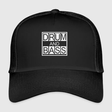 Drum and Bass T-Shirt, DnB Dubstep Shirt - Trucker Cap