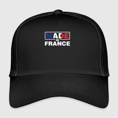 Made In France Trotse Fransman trots Franse vlag - Trucker Cap