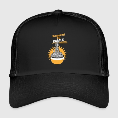 Powered By RAMES Funny Funny Asian Noodle Soup - Trucker Cap