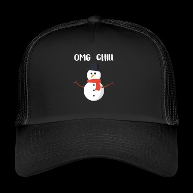 OMG Chill-cadeau voor Chill People - Trucker Cap