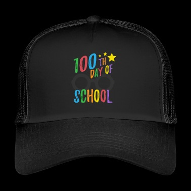100th skoledag Tee for lærere og elever - Trucker Cap