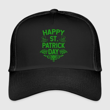 Happy St Patrick's Day Ireland holiday gift - Trucker Cap