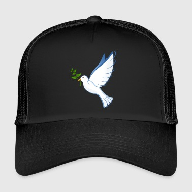 dove, peace dove, peace - Trucker Cap
