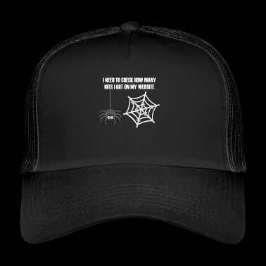 Hits gift for Web Developers - Trucker Cap