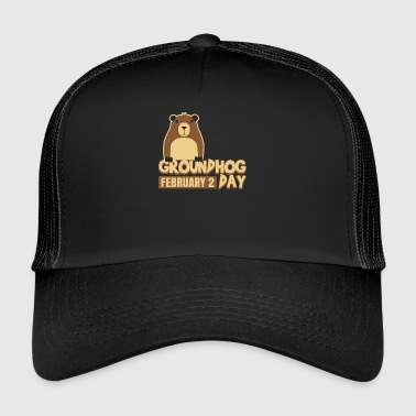 Groundhog Day 2 februar Weatherman Ground-Hog - Trucker Cap