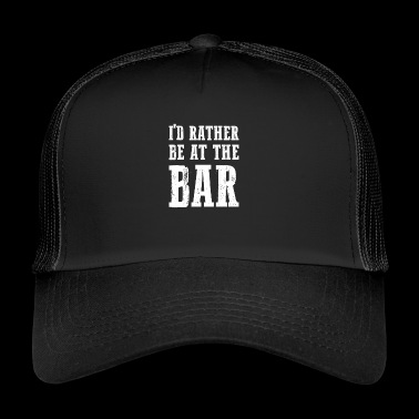 At The Bar gift for Bar Enthusiasts - Trucker Cap