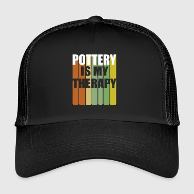 Pottery Therapy - Trucker Cap