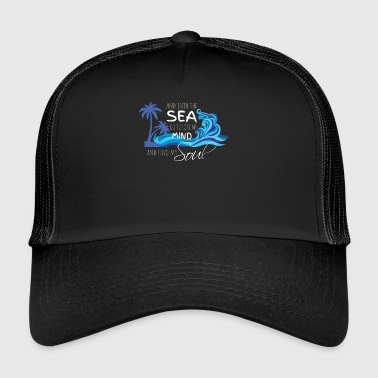 sea - mind - soul - Trucker Cap