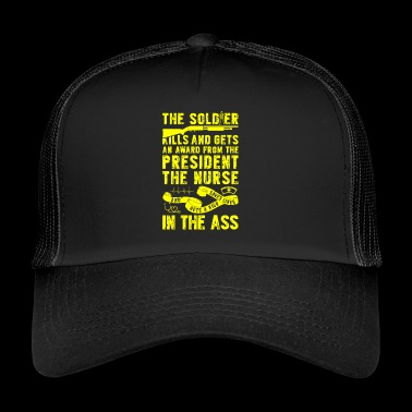 Soldiers are awarded - Nurses - Trucker Cap