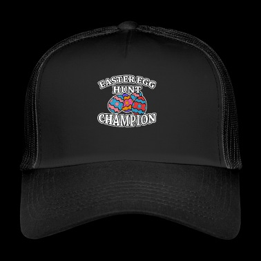 Easter egg hunt champion vintage style - Trucker Cap