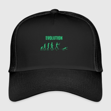 Evolution - Zombie - Undead - Funny - Cool - Trucker Cap