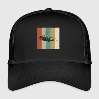 Diving - Diver - Water - Underwater World - Trucker Cap