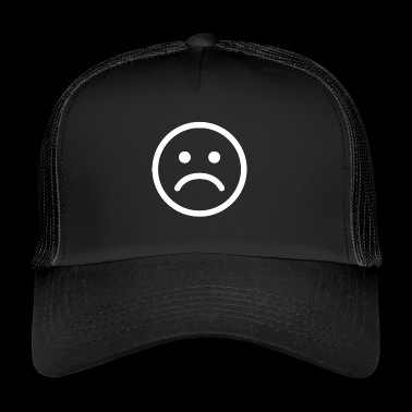 sad sad sad smiley - Trucker Cap