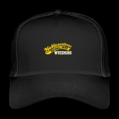 Park Narodowy Yellowstone Wyoming Baseball Style - Trucker Cap